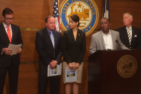 Mayor Of Houston Releases Proposed Budget For 2017;  $82 Million Less Than 2016