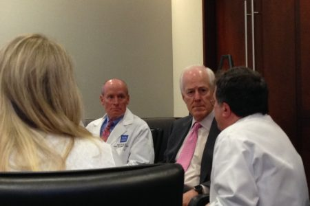 Sen. Cornyn Attends Zika Roundtable At Texas Children's Hospital