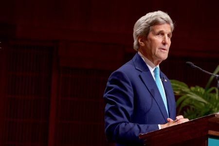 Secretary Kerry Delivers a Speech