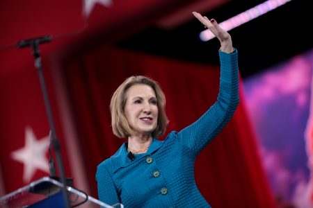 Carly Fiorina at the Conservative Political Action Conference 2015