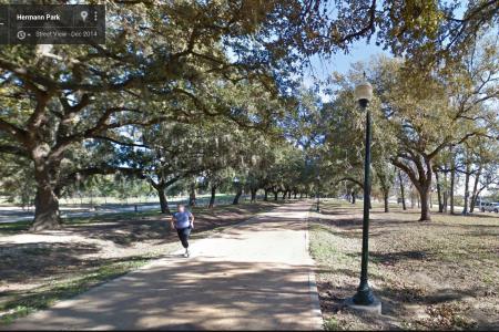 Street View Memorial Park