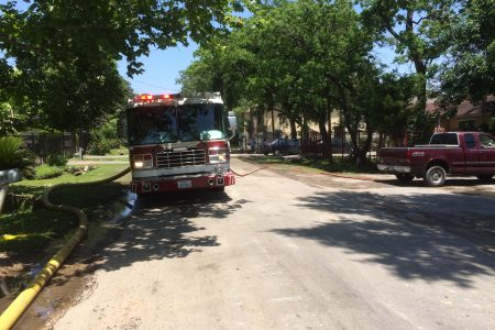 Neighbors Weary About Chemicals In Air, Water After Spring Branch Warehouse Fire