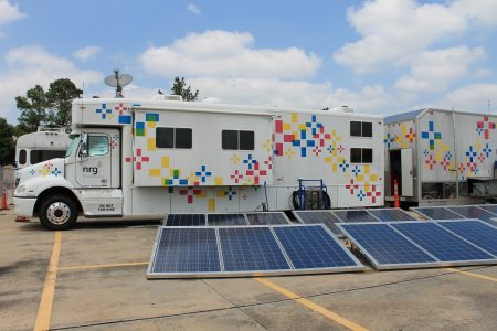 Relief Vehicle Brings Power, Connectivity To Disaster Areas