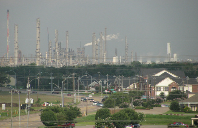ExxonMobil Baytown refinery