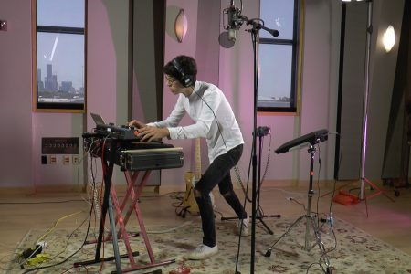 "Video: Multi-Instrumentalist Artist '-Us.' Performs Prince's ""I Wanna Be Your Lover"""