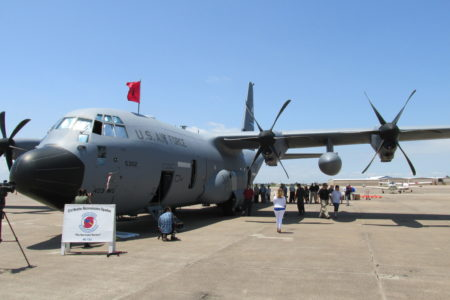 WC-130J Hurricane Hunter