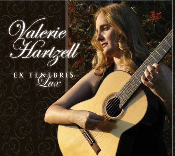 Album cover for Valerie Hartzell's Ex Tenebris Lux.