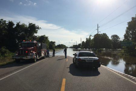 Evacuations Underway As Rising Rivers Flood Houston Region