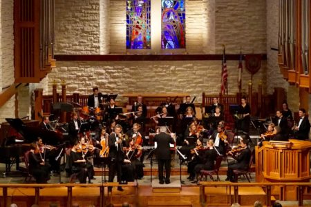 River Oaks Chamber Orchestra in concert at the Church of St. John the Divine