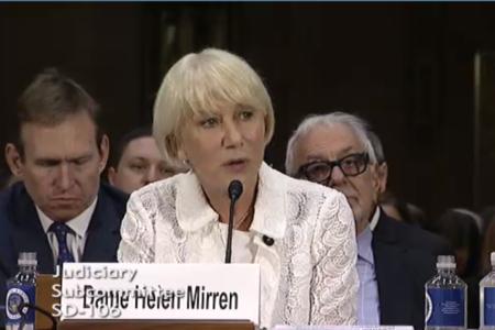 Dame Helen Mirren Calls On Senate To Pass Holocaust Art Recovery Bill