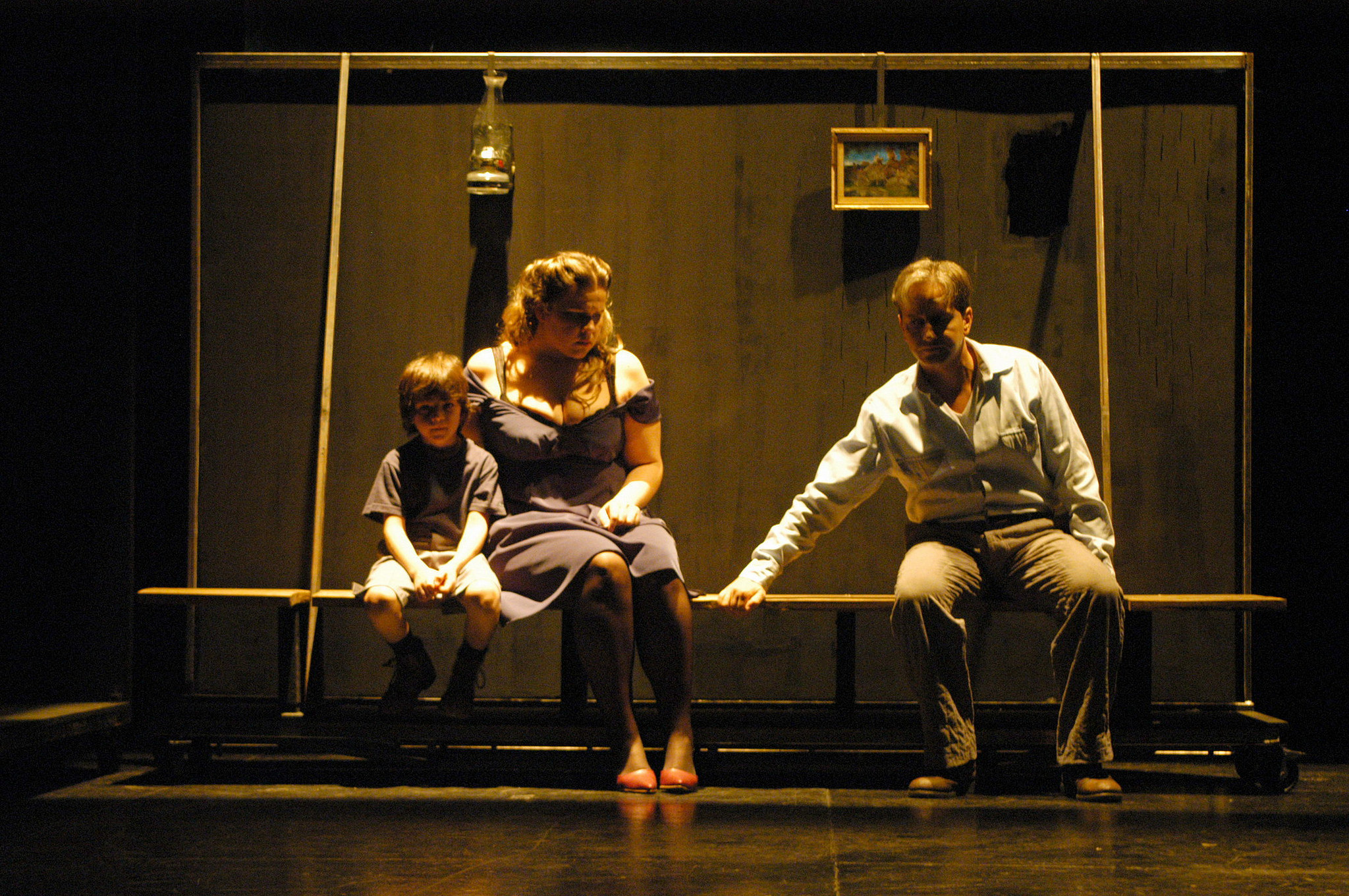 From a 2005 performance of Wozzeck by Teatro Avenida, Buenos Aires.