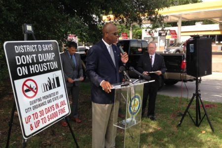 Councilmember Dwight Boykins speaking