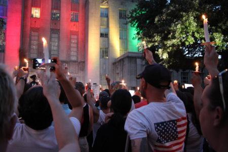 City of Houston's candlelight vigil