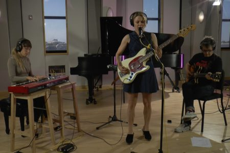 Video: Britta Phillips Performs In The Geary Studio