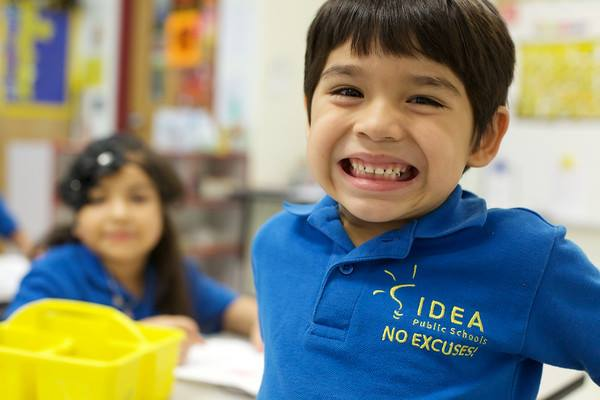 image of a smiling school-aged boy