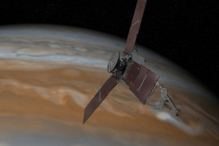 "When it named this mission, NASA acknowledged its difficulty. Juno was a Roman goddess, the agency notes, ""who was Jupiter's wife, and who could also see through clouds."""