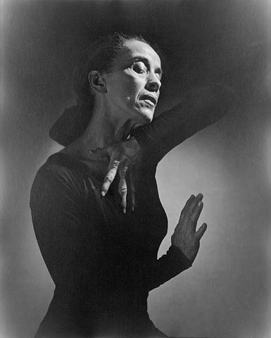 Portrait of Martha Graham
