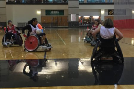 Wheelchairs Collide In New Rugby Camp For Women