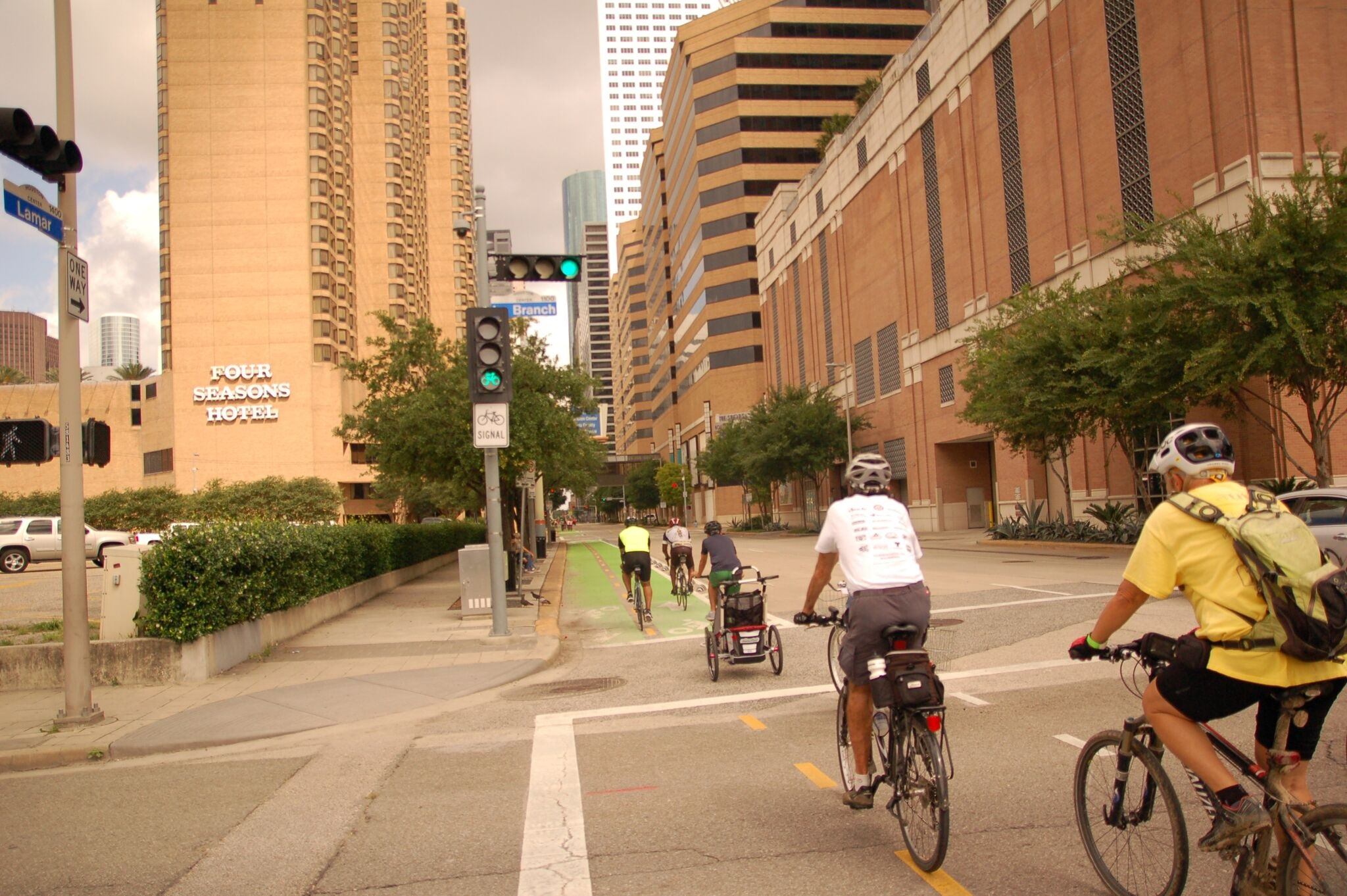 One of the main goals of the Houston bike plan is to expand the high-comfort network to more than 800 miles.