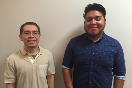 "Both Victor Rodriguez and Thomas Perez said that the support from the nonprofit, CollegeCommunityCareer, helped them reach higher education. They were among more than 130 students from around the country who gathered at a summit on ""Beating the Odds"" at the White House this summer."