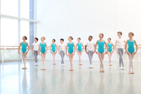 Students of Houston Ballet Academy's Lower School.