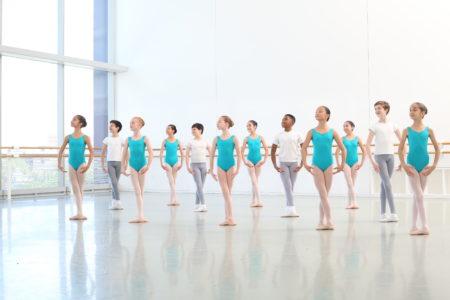 Students of Houston Ballet Academy's Lower School.