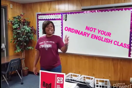 Cy-Fair High School Teacher Connects To Students On First Day Of Class With Rap Video