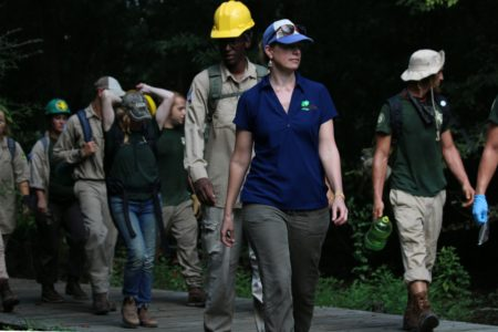 Building Trails and Resumes In The Hot, Humid Forests Of Houston