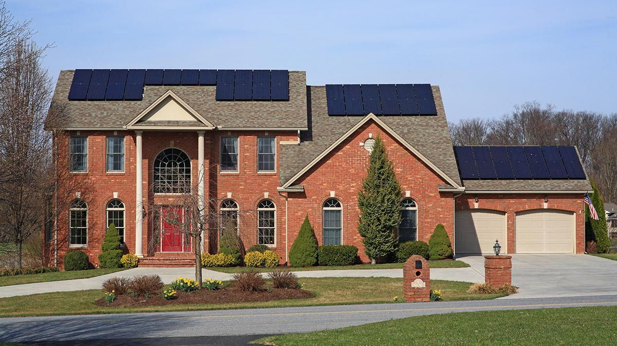 Houston's new construction code for residential properties favors the use of solar energy.