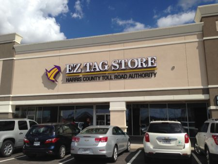 The new EZ Tag store for the north Houston area, which is located at 1417 Spring Cypress Road, is bigger and has more customer service representatives than its predecessor, which was located at the intersection of I-45 and Richey Road.