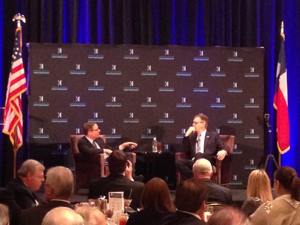 Evan Smith, CEO and co-founder of the Texas Tribune, and Texas Lieutenant Governor Dan Patrick discussed what the 85th Texas Legislature may be like next year.