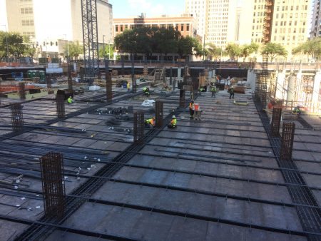 Photo of building construction site