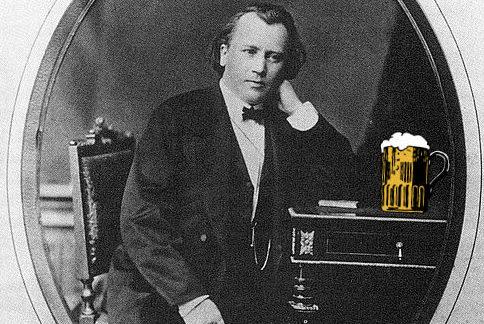 Brahms and Beer