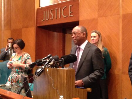 Houston Mayor Sylvester Turner says he is not worried about the progress the bill to ban and punish sanctuary cities is making so far in the Texas Legislature.