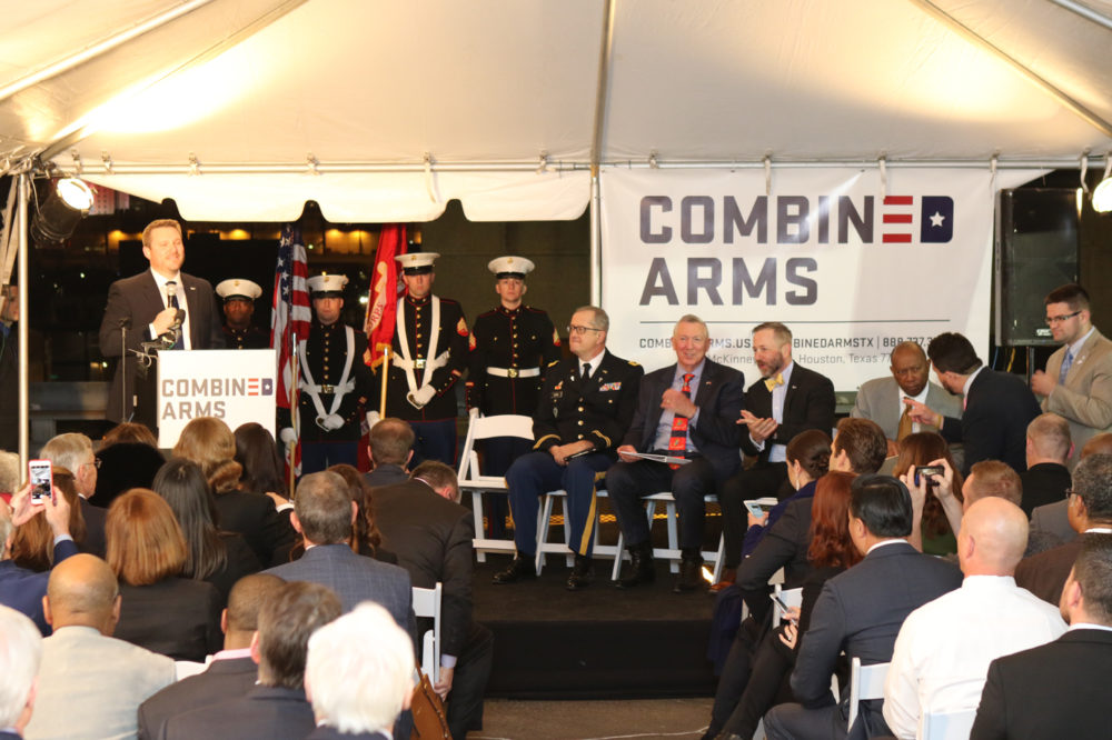 Mayor Sylvester Turner and other members of the Houston City Council attended an event held on January 26th to honor the work of Combined Arms and grant the organization a City Proclamation.