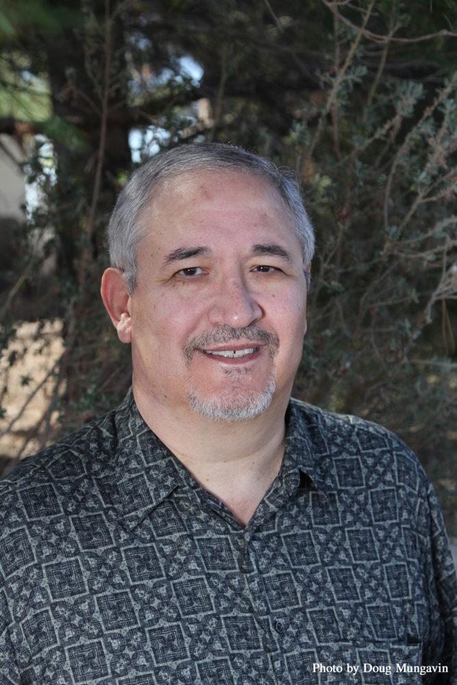 Photo of Frank Varela, Author of Diaspora: Selected and New Poems. February 2017 Arte Publico Press Author of the Month