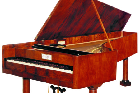 Restored piano built by Conrad Graf in 1826