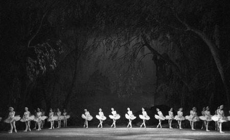 Scene from Pyotr Tchaikovsky's ballet Swan Lake, Bolshoi Theater