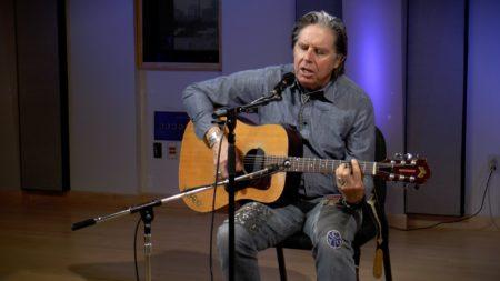 John Doe performs in the Geary Studio