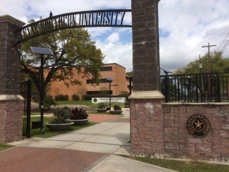Texas Southern University gate