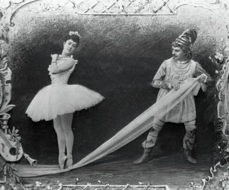Photograph from the first performance of The Nutcracker in 1892.