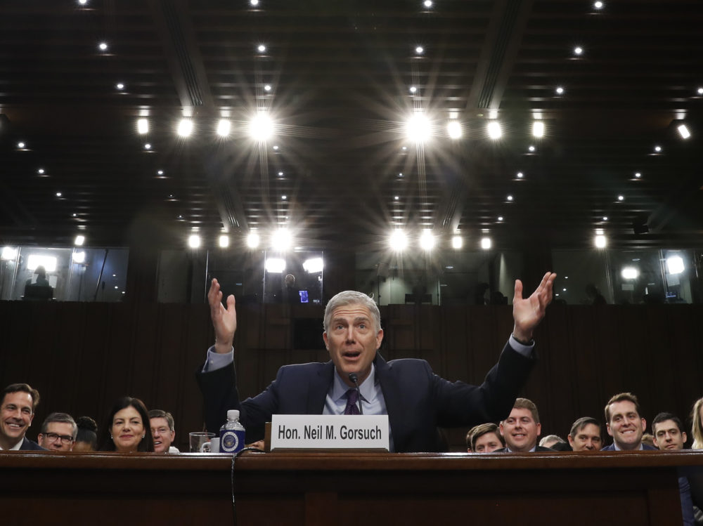 Senate begins debate on Gorsuch, headed for showdown