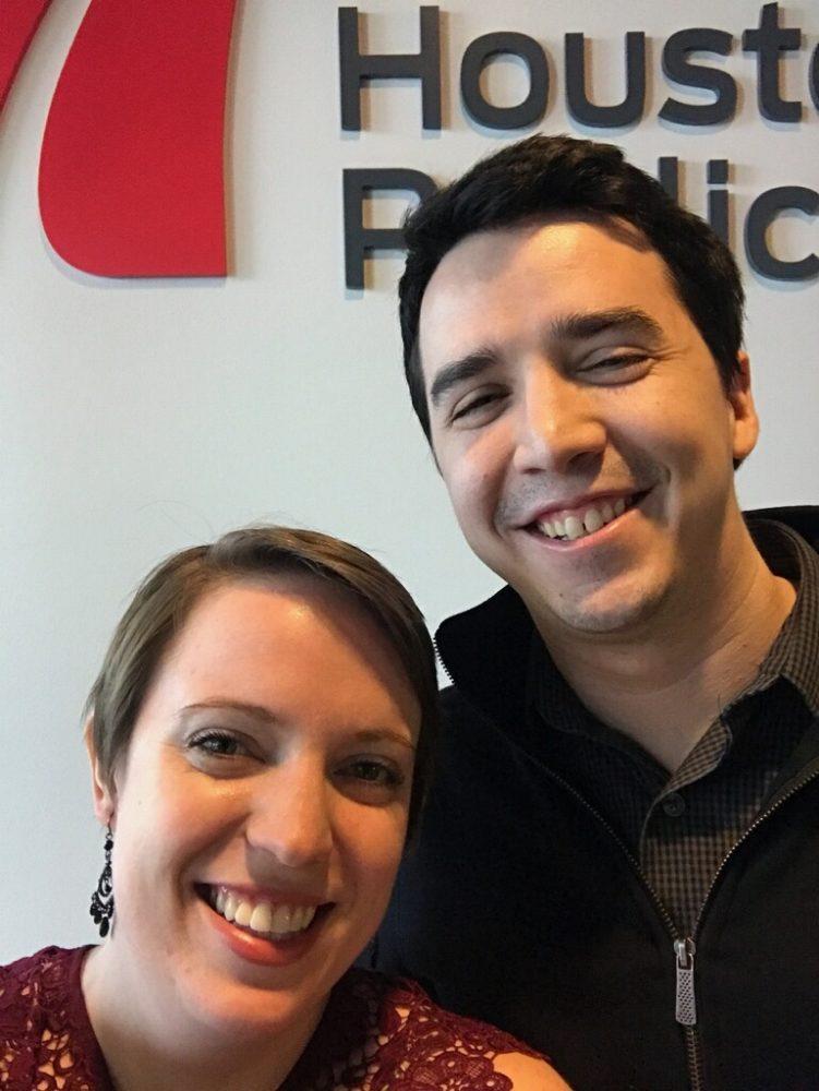 Anna Diemer, Founding Director of Prima Volta, and Joshua Zinn of HPM.